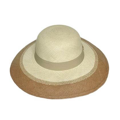 Panama hat Lady Duo