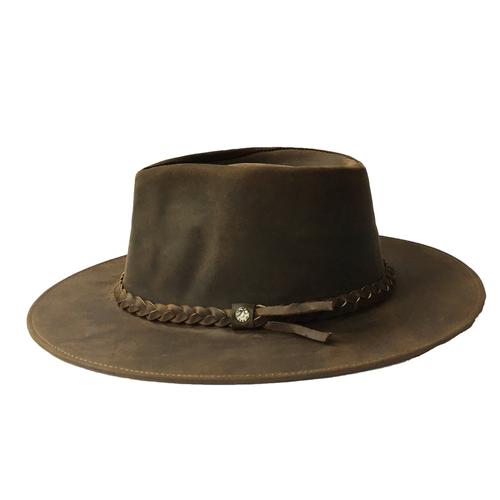 2563698201ca8 Sombrero Cuero Unisex