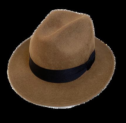 Sombrero Diamante lana castaño