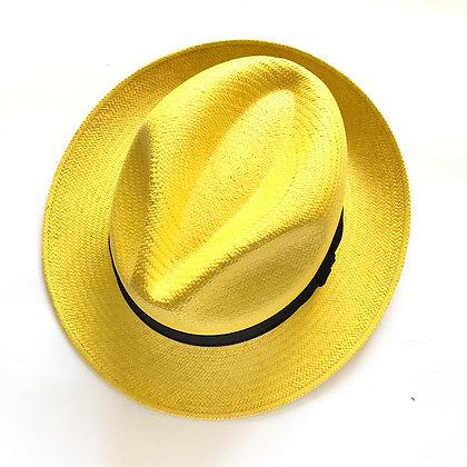 Sombrero Fedora Amarillo
