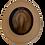 Thumbnail: Sombrero Diamante lana castaño