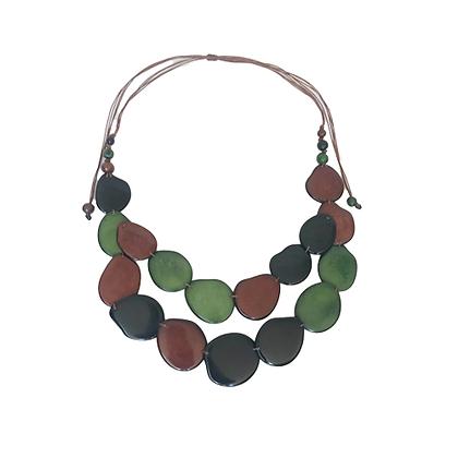 Collar Tagua Amazona