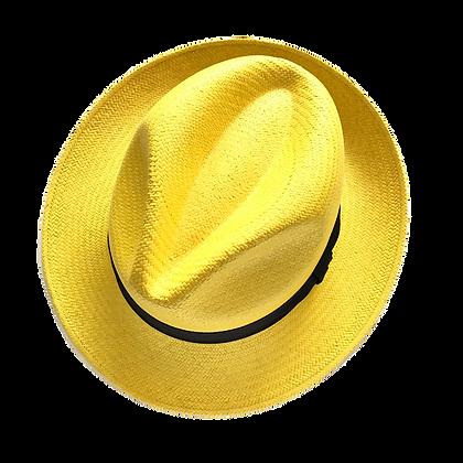 Panama Hat Fedora Amarillo