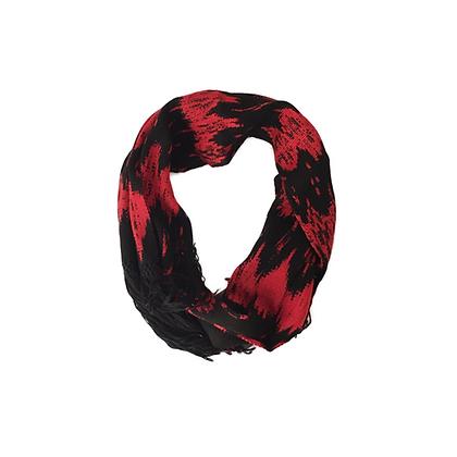 Bufanda ikat rojo