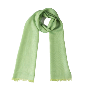 Echarpe fino Baby alpaca + Seda | Verde