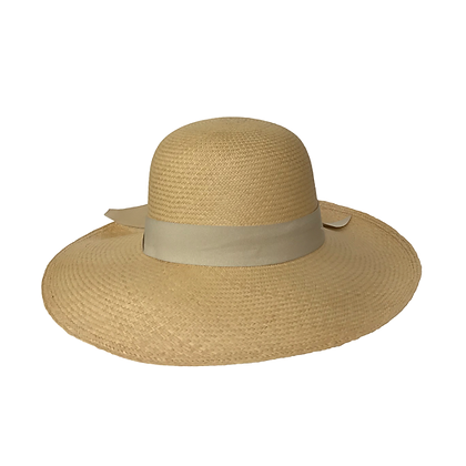 Panama Hat Lady Beige