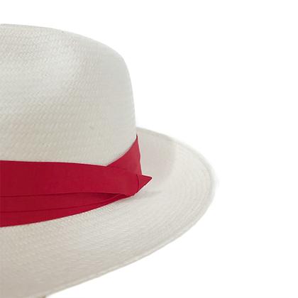 Panama Hat Blanco Plisado