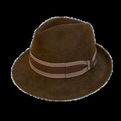Sombrero Diamante lana café