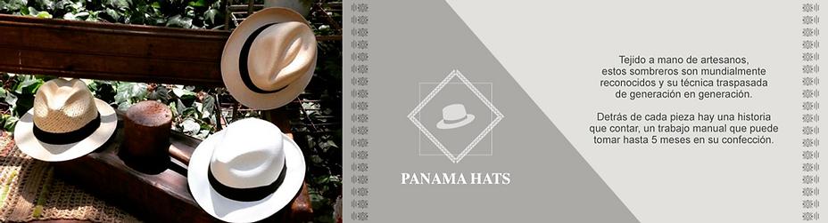 Panama hat finos desde Ecuador
