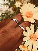 FOLLOW THE SUN - טבעת כסף 925