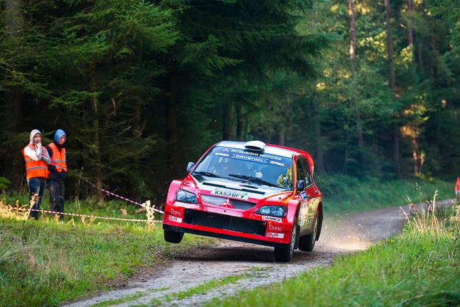 Ryan takes Trackrod Rally Yorkshire Podium