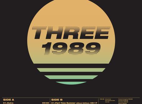 THREE1989初のレコード「The Sunset Fiction」が枚数限定で予約受付開始。