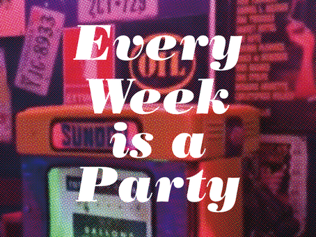 ツアー会場限定CD「Every Week is a Party」ジャケット公開!