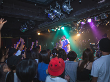 2018/11/25(Sun)『THREE1989 Day & Night Live Party 2018』at KOBE troop cafe