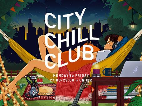 【RADIO】TBSラジオ「CITY CHILL CLUB」出演