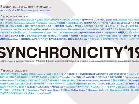 2019/04/07(Sun)『SYNCHRONICITY'19』