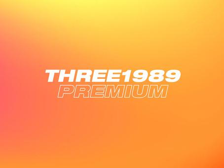 THREE1989 PREMIUM リニューアル