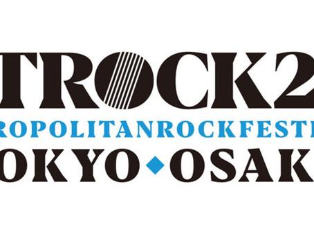 2019/05/18(Sat)『METROCK2019』出演決定!!!