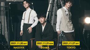 THREE1989 1st Album Director's Cut Release Tour 2021