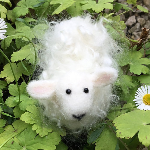 Make a Needle Felted Mohair Sheep with Lynne Dewberry