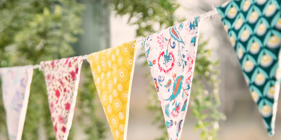 Blue Sky Bunting for 8-10 year olds