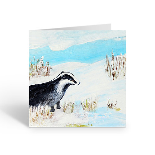 WHOLESALE PACK OF 6 Badger's Frosty Morning - Z092