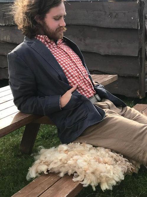 Weave a Fleece Tuffet with Jen Hunter of Fernhill Farm