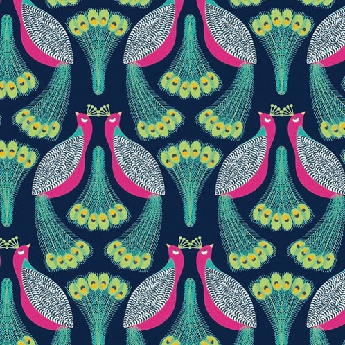 Large Beeswax Wrap - Peacock