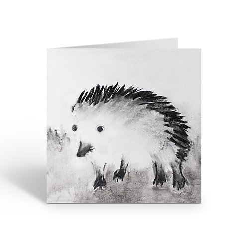 Hedgehog - card