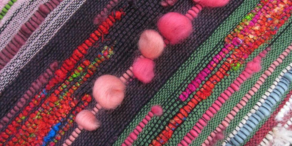 SAORI Weaving (SATURDAY CLASS)