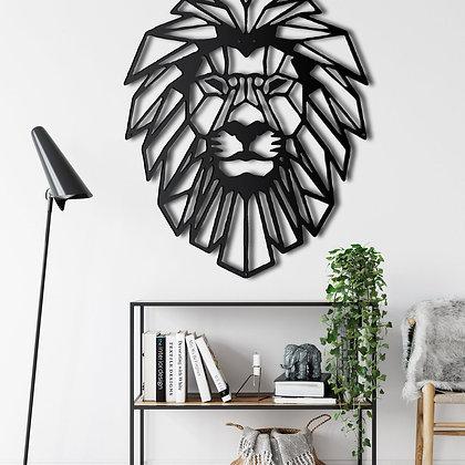 Панно металлическое Лев
