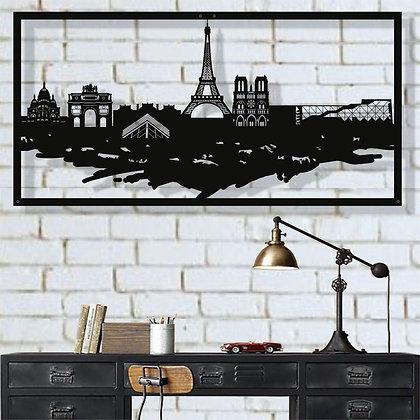 Панно металлическое Париж