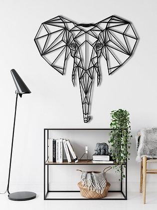 Панно металлическое Слон