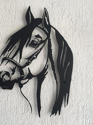 Панно металлическое Конь 430х610мм