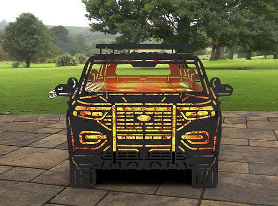 Мангал Police Car 550х452мм
