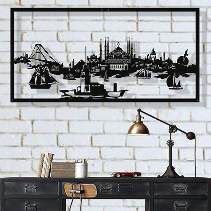 Панно металлическое Стамбул 1180х610мм