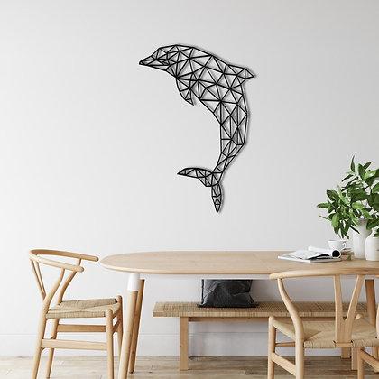 Панно металлическое Дельфин