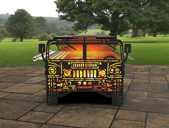 Мангал Humvee 2020  440х322мм
