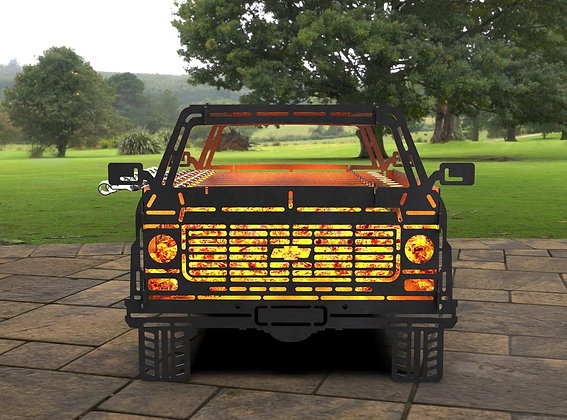 Мангал Chevy С10 Pickup 551х425мм