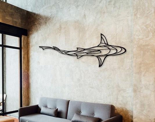 Панно металлическое Акула