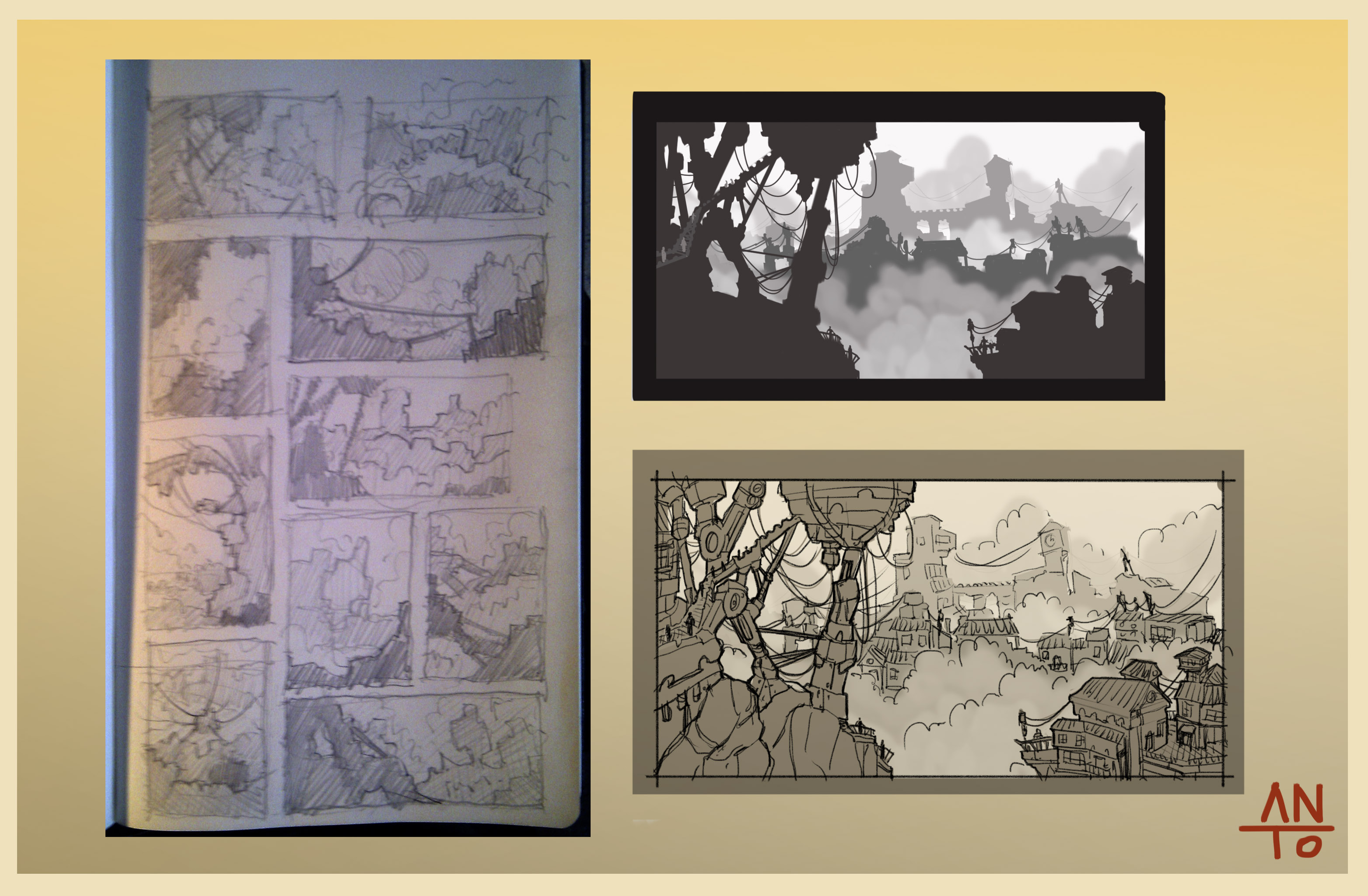Thumbnails environments