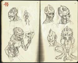 Concept alien