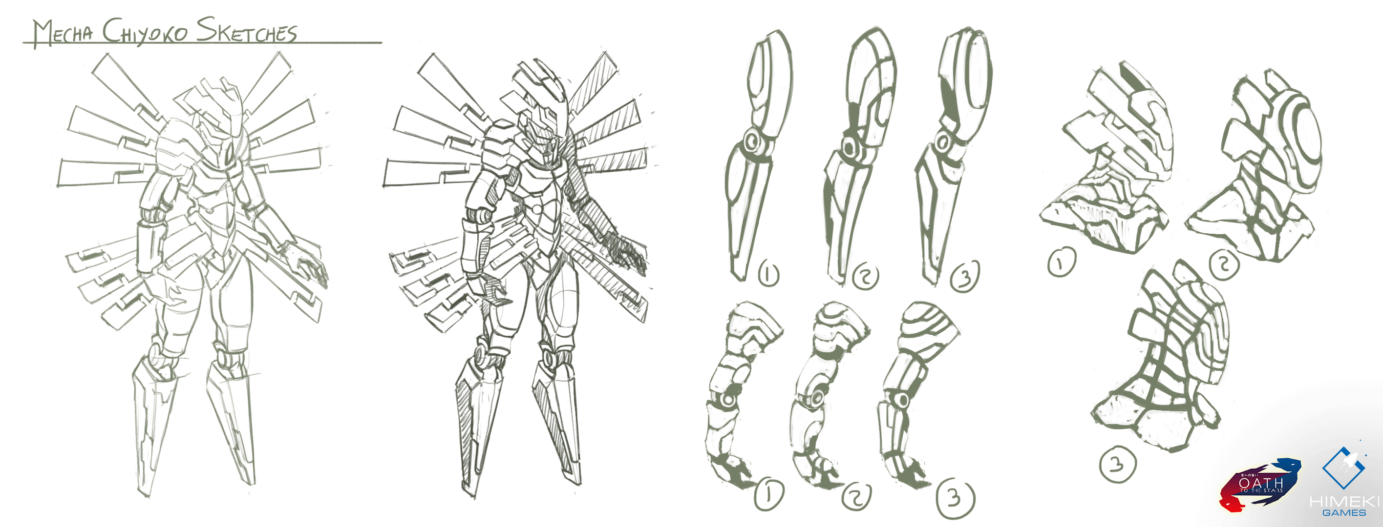 Mecha_Chiyoko_Sketches