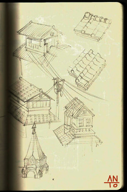 Oriental building study
