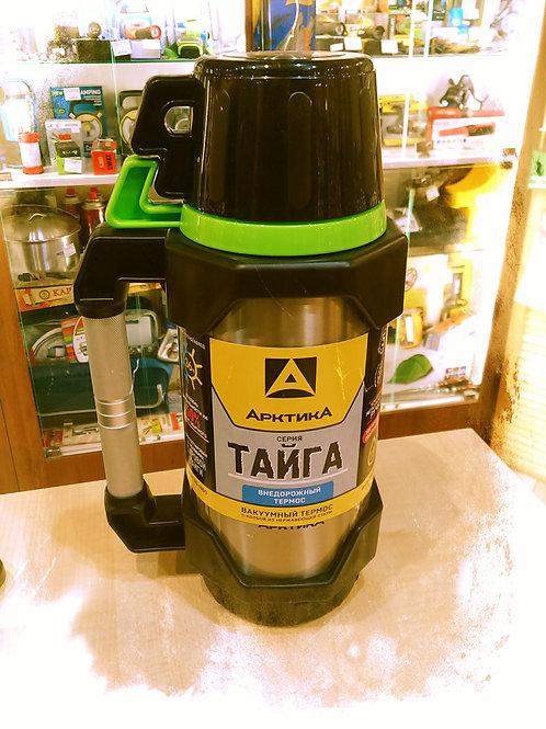 Термос Арктика  1,8 литра Тайга
