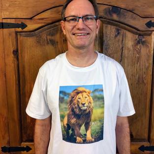 Custom T-shirt sample (front)