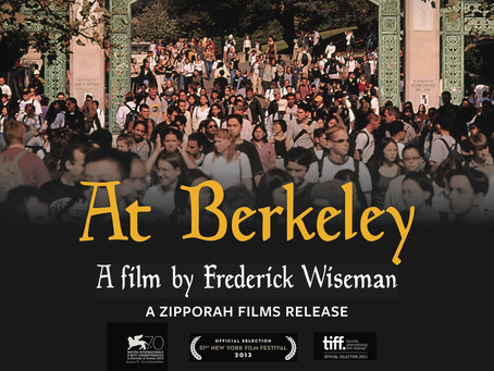 Interview with Filmmaker Frederick Wiseman on Berkeley as a Metaphor