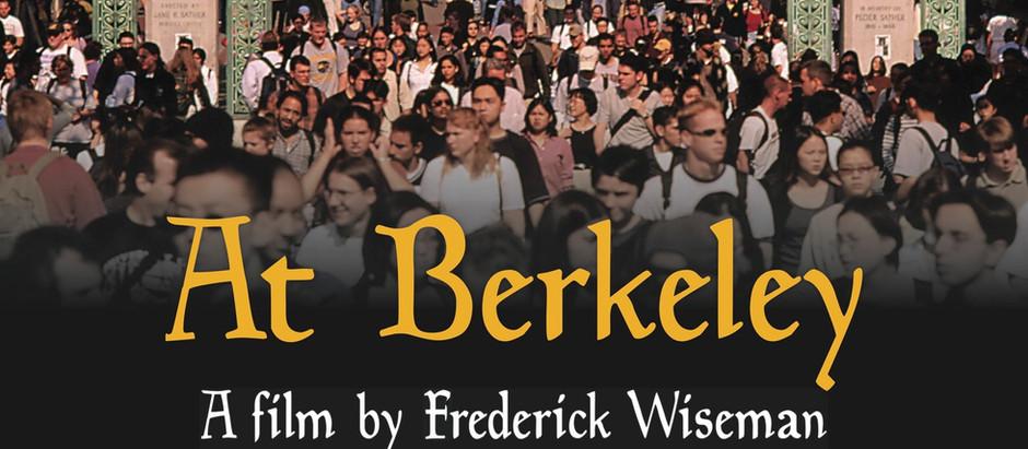 Interview with Filmmaker Frederick Wiseman on Berkeley as a Metaphor