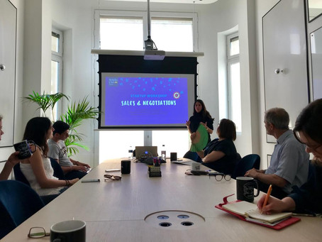 Start Up Series: Workshop on Sales and Negotiations
