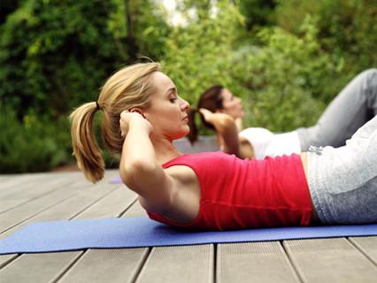 My 20 min Fresh Air Workout